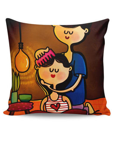 Gesture Of Love Cushion Cover Online India