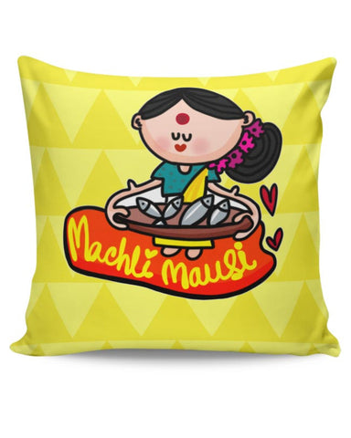 Maachli Mausi Cushion Cover Online India