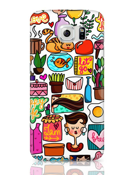 Cute Little Objects Samsung Galaxy S6 Covers Cases Online India