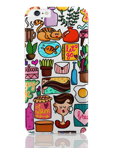 Cute Little Objects iPhone 6 Plus / 6S Plus Covers Cases Online India