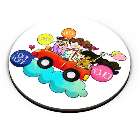 Joy Ride Fridge Magnet Online India