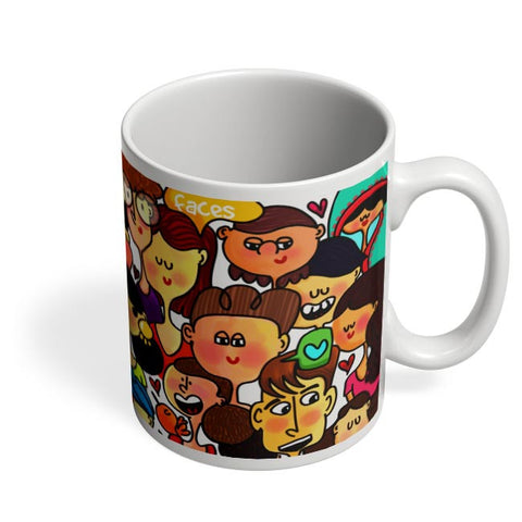Faces Coffee Mug Online India