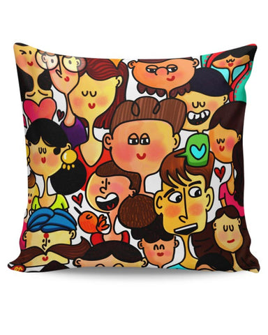 Faces Cushion Cover Online India