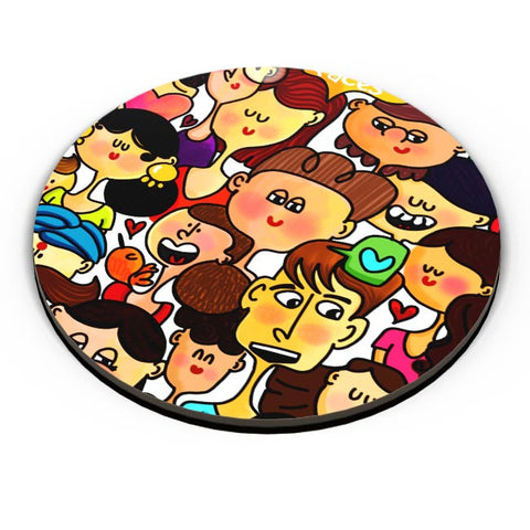 Faces Fridge Magnet Online India