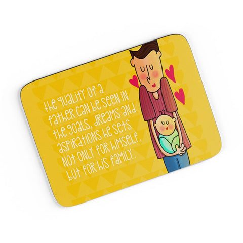 Dad & Me A4 Mousepad Online India