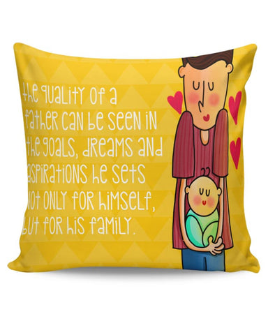 Dad & Me Cushion Cover Online India