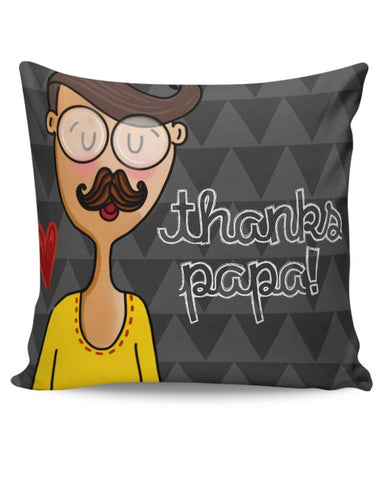 Thank you Papa Cushion Cover Online India