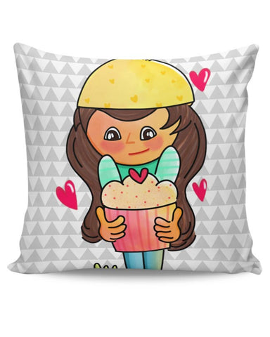 The Cupcake Girl Cushion Cover Online India