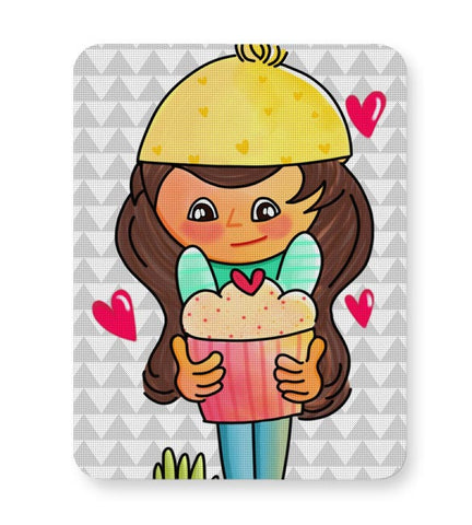 The Cupcake Girl Mousepad Online India