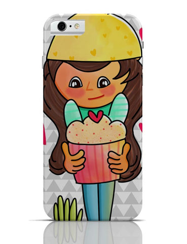 The Cupcake Girl iPhone 6 / 6S Covers Cases