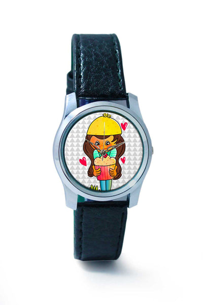 Women Wrist Watch India | The CupCake Girl Wrist Watch Online India
