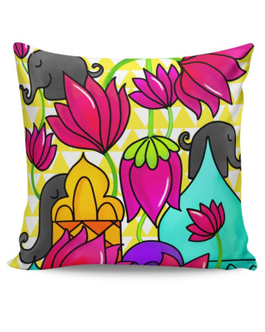 Psychedelic Cushion Cover Online India