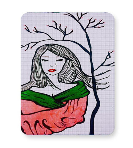 Buy Mousepads Online India | Sad Geisha Mouse Pad Online India