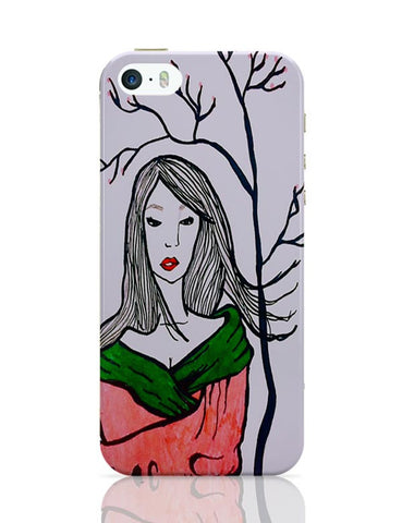 iPhone 5 / 5S Cases & Covers | Sad Geisha iPhone 5 / 5S Case Cover Online India