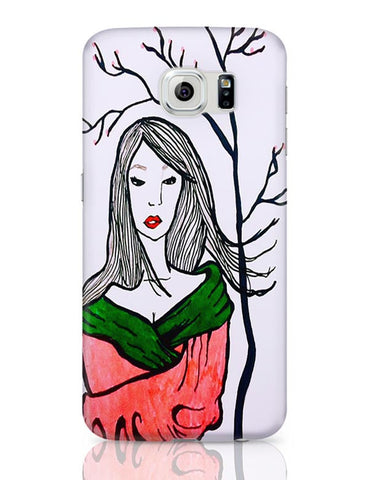 Samsung Galaxy S6 Covers | Sad Geisha Samsung Galaxy S6 Case Covers Online India