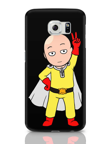 Samsung Galaxy S6 Covers | Chibi Saitama Samsung Galaxy S6 Case Covers Online India