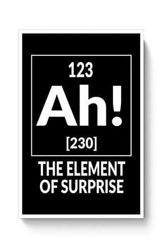 Buy 123 Ah! [230] The Element Of Surprise Poster