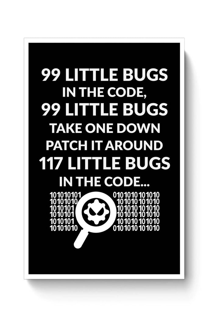 Buy 99 Little Bugs 117 Poster Online India