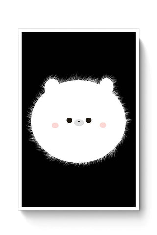 Cute Panda Face Poster Online India