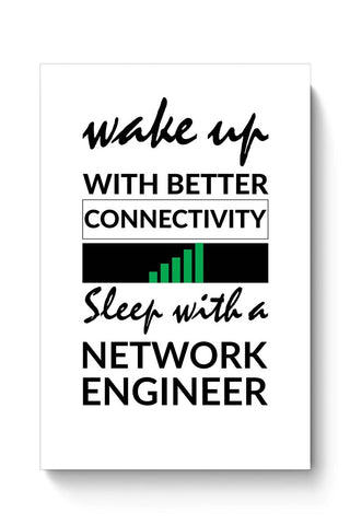 Network Engineer Funny Quote Poster Online India