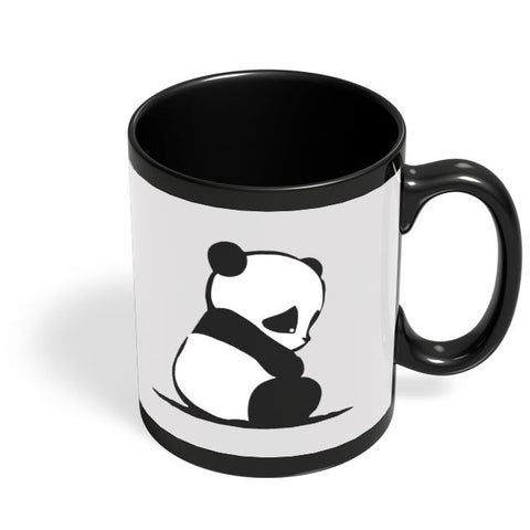 Panda Black Coffee Mug Online India