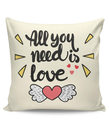 All You Need Is Love Cushion Cover Online India