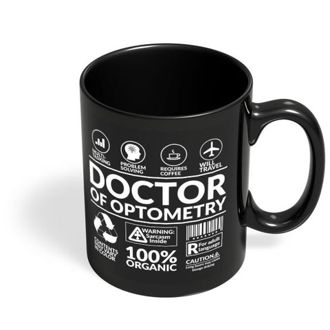 Doctor Black Coffee Mug Online India