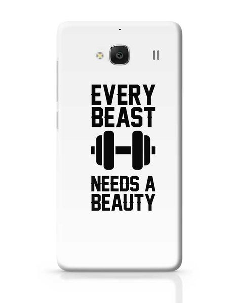 Every Beast Needs A Beauty Redmi 2 / Redmi 2 Prime Covers Cases Online India