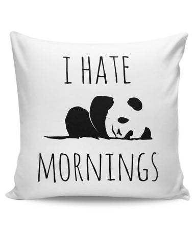I Hate Panda Morning Cushion Cover Online India