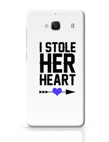 I Stole Her Heart (Boy) Redmi 2 / Redmi 2 Prime Covers Cases Online India