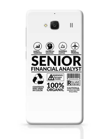 Senior Financial Analyst` Redmi 2 / Redmi 2 Prime Covers Cases Online India