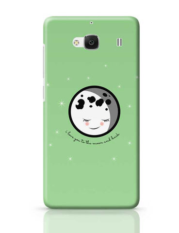 Moon I Love You To The Moon And Back Redmi 2 / Redmi 2 Prime Covers Cases Online India
