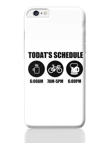 Today'S Schedule iPhone 6 Plus / 6S Plus Covers Cases Online India