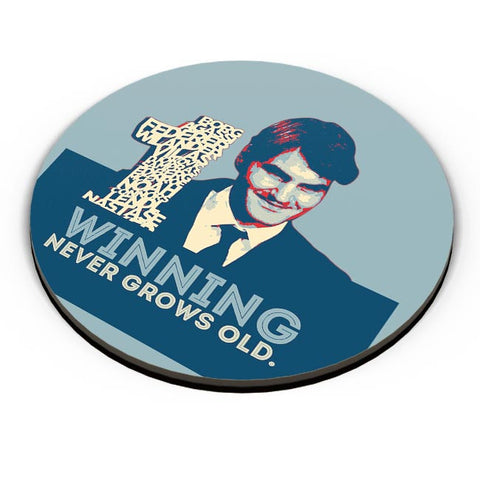 1 no winning never grows old roger federer Fridge Magnet Online India