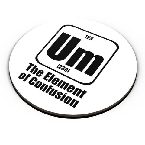 123 um [230] the element of confusion Fridge Magnet Online India