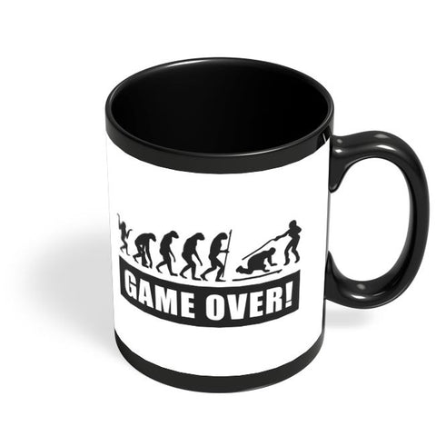game over! Black Coffee Mug Online India