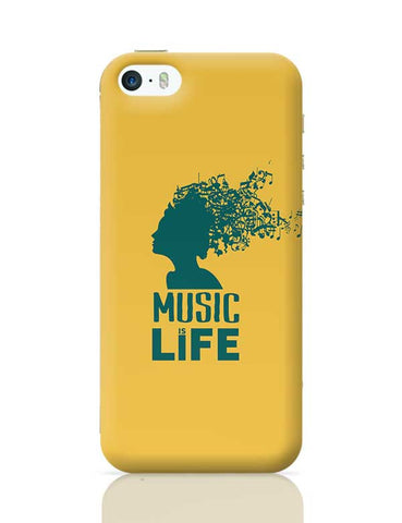 music is life girl iPhone 5/5S Covers Cases Online India
