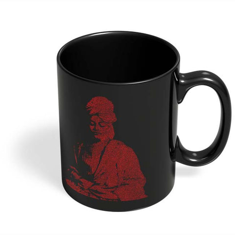 Coffee Mugs Online | Swami Vivekananda Black Coffee Mug Online India