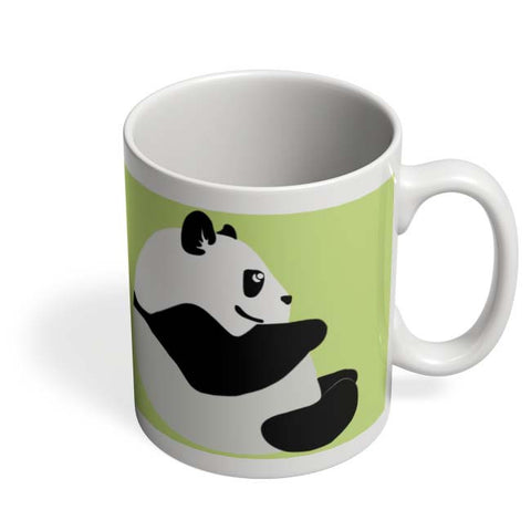 Coffee Mugs Online | Cute Baby Panda Minimal Mug Online India