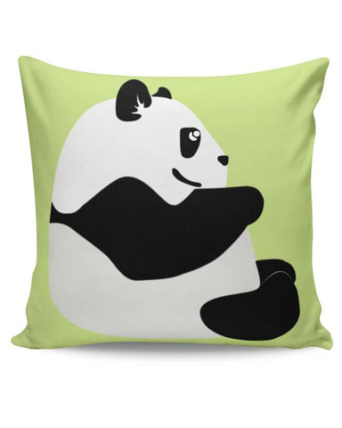 PosterGuy | Cute Baby Panda Minimal Cushion Cover Online India