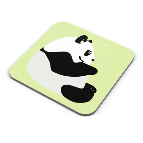 Buy Coasters Online | Cute Baby Panda Minimal Coaster Online India | PosterGuy.in