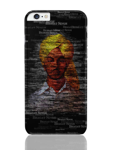iPhone 6 Plus/iPhone 6S Plus Covers | Bhagat-Singh Typography iPhone 6 Plus / 6S Plus Covers Online India