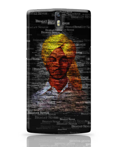 OnePlus One Covers | Bhagat-Singh Typography OnePlus One Case Cover Online India