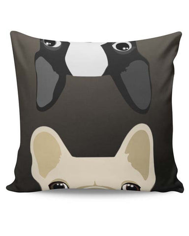 PosterGuy | Pug Duo Cushion Cover Online India