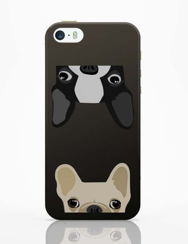 iPhone 5 / 5S Cases & Covers | Pug Duo iPhone 5 / 5S Case Online India