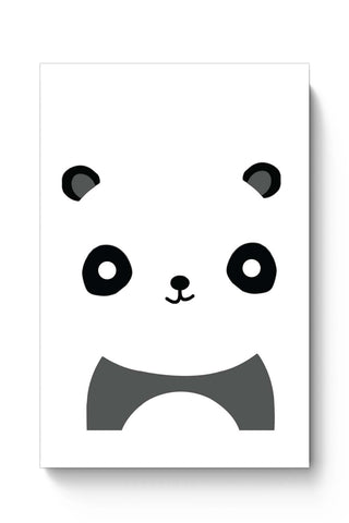 Posters Online | Panda Bear Animal Art Illustration Poster Online India | Designed by: Sawariya Creatives