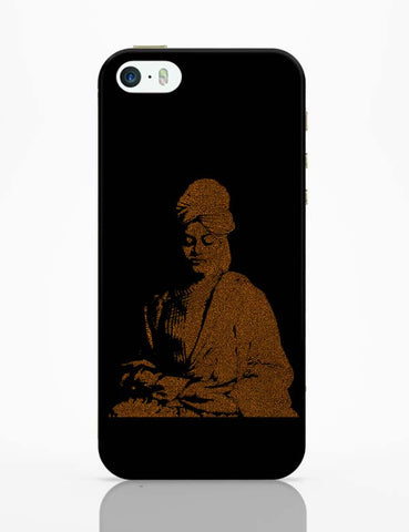iPhone 5 / 5S Cases & Covers | Swami Vivekananda Typography iPhone 5 / 5S Case Online India
