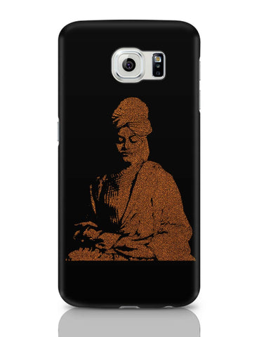 Samsung Galaxy S6 Covers | Swami Vivekananda Typography Samsung Galaxy S6 Case Covers Online India