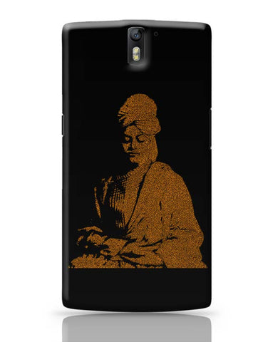 OnePlus One Covers | Swami Vivekananda Typography OnePlus One Case Cover Online India