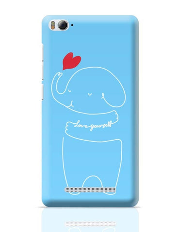 Xiaomi Mi 4i Covers | Love Your Self Blue Xiaomi Mi 4i Case Cover Online India